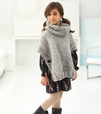How To Knit A Poncho And Cowl