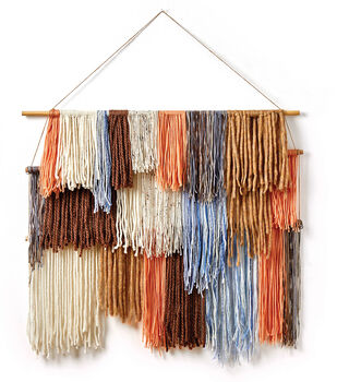How To Make A Tiered Yarn Wall Hangings