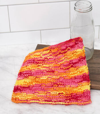 How To Make A Wrapped Stitches Washcloth