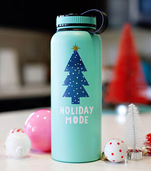 How To Make A HWTM Holiday Mode Water Bottle
