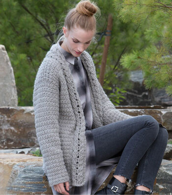 How To Make A Slouchy Crochet Cardigan