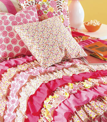 Twin Size Ruffled Duvet Cover