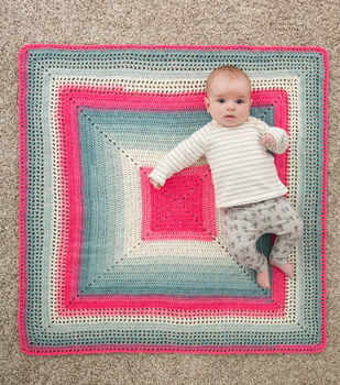 How To Make A Mandala Whitby Baby Blanker