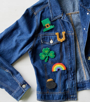 How To Make St. Patrick's Day Perler Bead Crafts