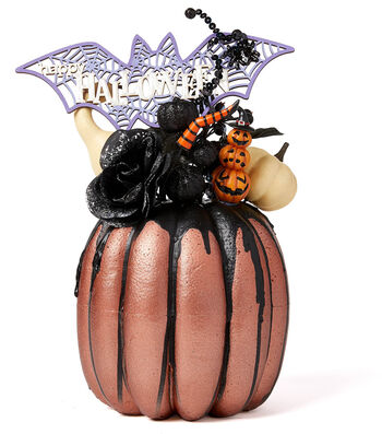 How To Make A Halloween  Drip Pumpkin