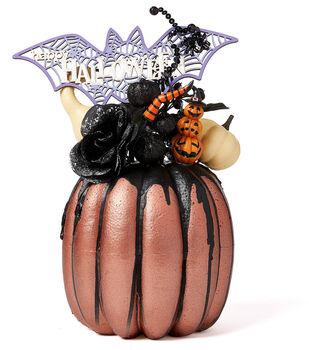 How To Make A Halloween  Drip Pumpkin
