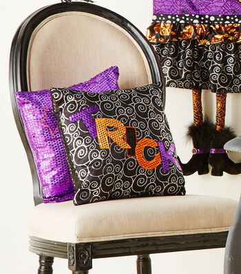 How To  Make A Halloween Make it your Own Pillows