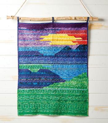 Make A Mountain Landscape Quilt