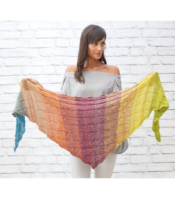 How To Make A Small Shapes Shawl