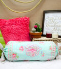 Bed and Breakfast Rose Kneckroll Pillow