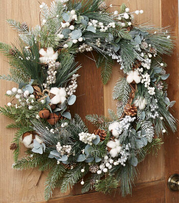 How To Make A Winter Grapevine Wreath