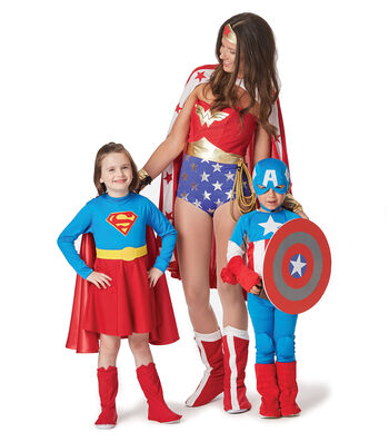 How To Make Super Hero Family Costumes With Patterns