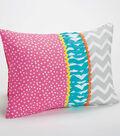 Slumber Party Fun Fabric Pillow