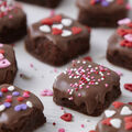 How To Make Valentine\u0027s Day Brownie Bites