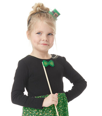 How To Make A St. Patrick's Day Dimensional Perler Bead Hat