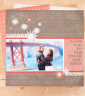 Love You to the Moon Scrapbook Page