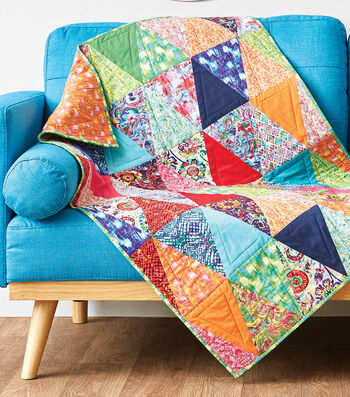 How To Make A Triangle Wall Hanging Quilt