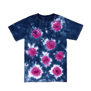 Sunburst Tie Dye Technique T-shirt