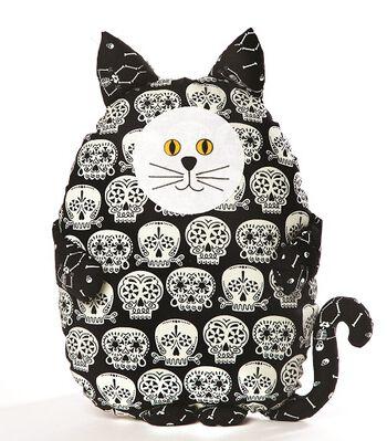 Glow In The Dark Cat Pillow