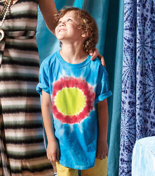 How To Make a Woodstock Tie-Dye Spiral Shirt