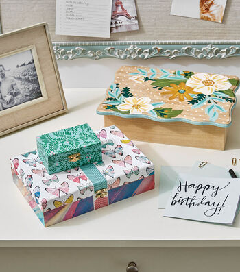 How To Make A Decoupaged Box