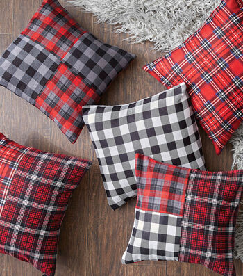 How To Make A Plaid Pillow