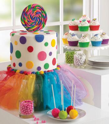 Birthday Cake Tutu Skirt