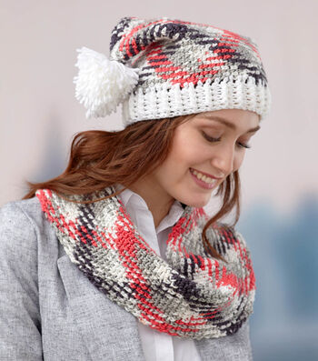How To Make A Planned Pooling Hat And Cowl Set