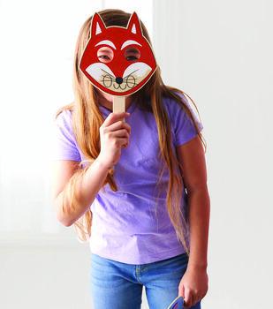 How To Make Kids Wood Masks