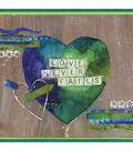 Love Never Fails, Mixed Media home Decor