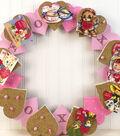 Valentine Cork Wreath