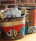 DIY Batik Fabric Storage Baskets