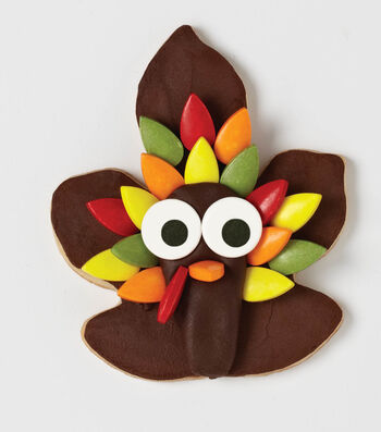 Thanksgiving Turkey Cookie