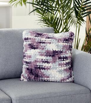 How To Make A Bernat Alize Blanket EZ Garter Ridge Pillow