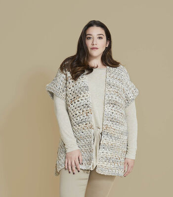 How To Make a Lion Brand Wool-Ease Thick & Quick Drusilla Top