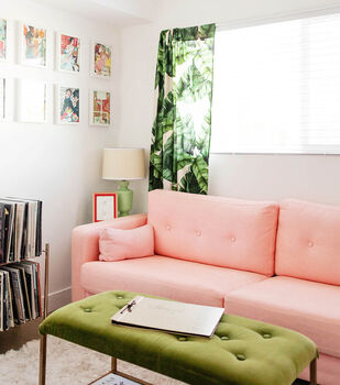 How To Make A Dyed Sofa Slipcover