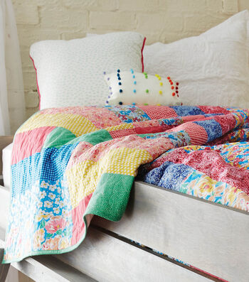 How To Make A Twin Size Strip Quilt
