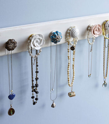 How To Make A Dresser Knob Jewelry Hanger