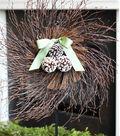 Twig & Pinecone Wreath