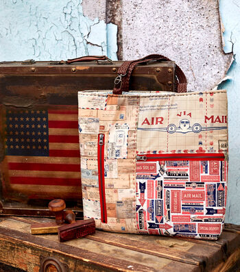 How to Make An Air Mail Tote Bag
