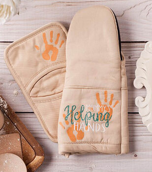 How to Make a Helping Hands Oven Mit and Pot Holder