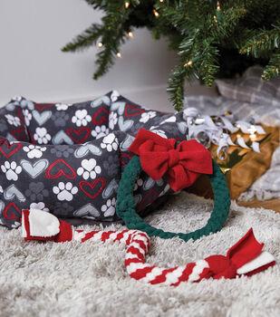 How To Make A Christmas Fleece Dog Toys