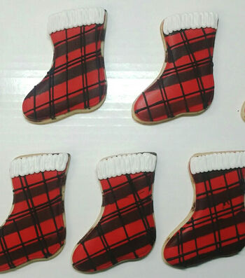 How to bake Hang the Stocking Cookies