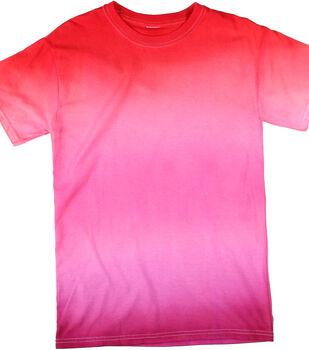 How To Make a Super Big Ombre Pink T-Shirt