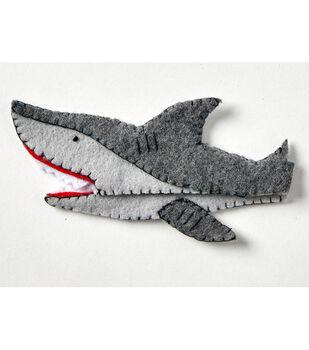 How To Make Felt Shark Scissors