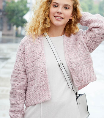 How To Make A Lion Brand Touch of Alpaca Abigail Cardigan