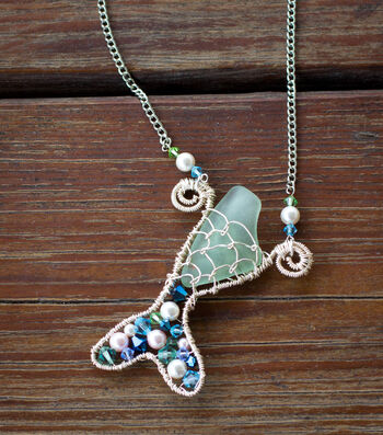 How To Make A Mermaid Tail Necklace