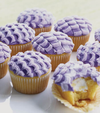 Purple Pull-Out Cakes