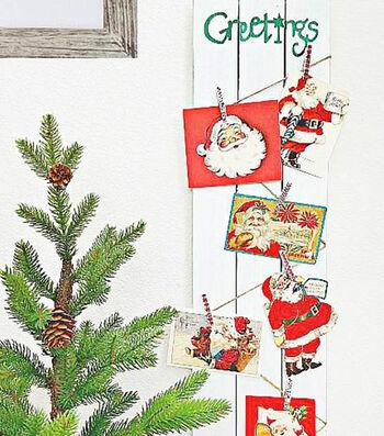 How To Make A Christmas Card Holder