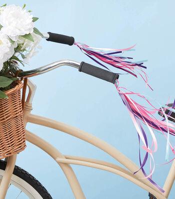 How To Make a Bike Handle Ribbon Tassels